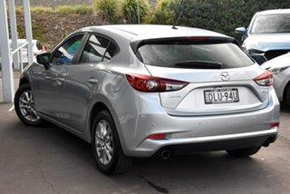 2016 Mazda 3 BM5476 Maxx SKYACTIV-MT Silver 6 Speed Manual Hatchback.