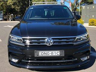 2017 Volkswagen Tiguan 5N MY17 162TSI DSG 4MOTION Highline Black 7 Speed.