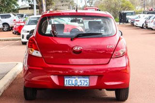 2014 Hyundai i20 PB MY15 Active Red 4 Speed Automatic Hatchback