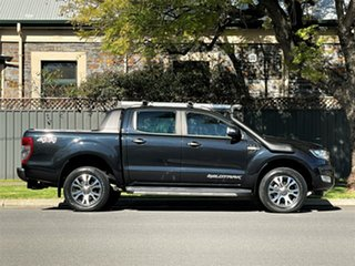 2015 Ford Ranger PX MkII Wildtrak Double Cab Black 6 Speed Sports Automatic Utility