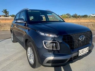 2019 Hyundai Venue QX MY20 Active Blue 6 Speed Automatic Wagon.