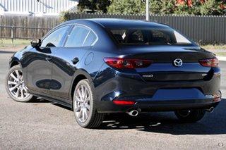 2021 Mazda 3 BP2SLA G25 SKYACTIV-Drive GT Blue 6 Speed Sports Automatic Sedan