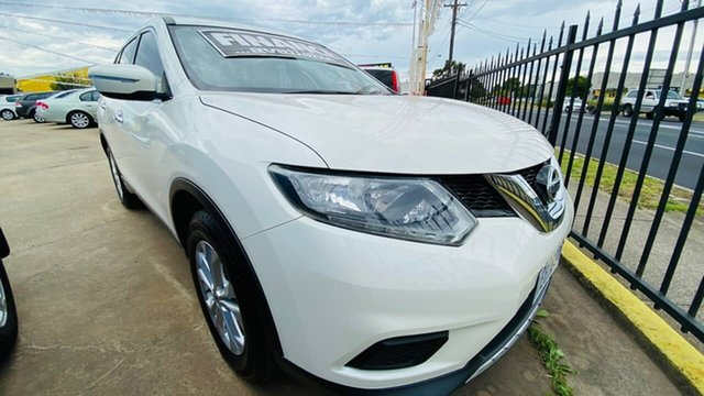 Used Nissan X-Trail T32 ST X-tronic 2WD Maidstone, 2015 Nissan X-Trail T32 ST X-tronic 2WD White 7 Speed Constant Variable Wagon
