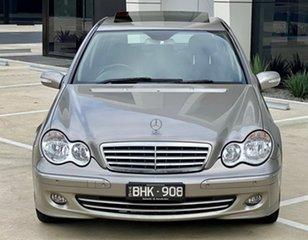 2006 Mercedes-Benz C-Class W203 MY2006 C350 Elegance Silver 7 Speed Sports Automatic Sedan.