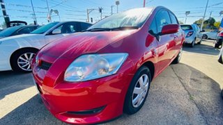 2008 Toyota Corolla ZRE152R Ascent Red 4 Speed Automatic Hatchback
