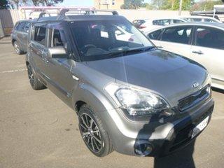 2012 Kia Soul AM MY13 + Grey 6 Speed Automatic Hatchback.