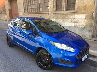 2015 Ford Fiesta WZ MY15 Ambiente PwrShift Blue 6 Speed Sports Automatic Dual Clutch Hatchback.