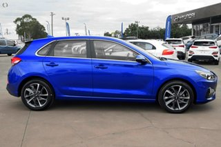 2021 Hyundai i30 PD.V4 MY21 Active Blue 6 Speed Sports Automatic Hatchback