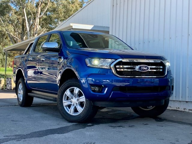 Used Ford Ranger PX MkIII 2020.25MY XLT Clare, 2020 Ford Ranger PX MkIII 2020.25MY XLT Blue 10 Speed Sports Automatic Double Cab Pick Up