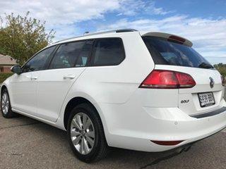 2014 Volkswagen Golf VII MY14 90TSI DSG Comfortline White 7 Speed Sports Automatic Dual Clutch Wagon