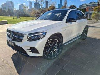 2017 Mercedes-Benz GLC-Class X253 808MY GLC43 AMG 9G-Tronic 4MATIC White 9 Speed Sports Automatic.