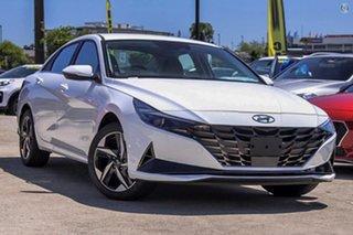 2021 Hyundai i30 CN7.V1 MY21 Active White 6 Speed Manual Sedan.