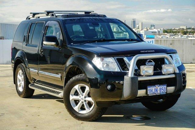 Used Nissan Pathfinder R51 MY10 Ti 550 Osborne Park, 2012 Nissan Pathfinder R51 MY10 Ti 550 Black/Grey 7 Speed Sports Automatic Wagon