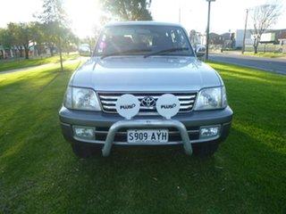 1999 Toyota Landcruiser Prado VZJ95R VX Silver Automatic Wagon.