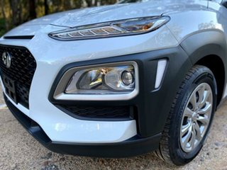 2019 Hyundai Kona OS.2 MY19 Go 2WD White 6 Speed Sports Automatic Wagon