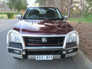 2005 Holden Rodeo RA MY05 LT Crew Cab Red 4 Speed Automatic Utility