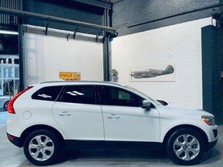 2012 Volvo XC60 DZ MY12 T5 PwrShift Teknik White 6 Speed Sports Automatic Dual Clutch Wagon.