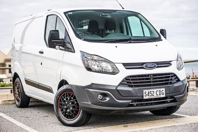 Used Ford Transit Custom VN 290S Low Roof SWB Christies Beach, 2017 Ford Transit Custom VN 290S Low Roof SWB White 6 Speed Automatic Van