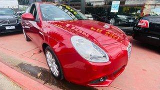 2013 Alfa Romeo Giulietta Series 0 MY13 Distinctive TCT JTD-M Red 6 Speed.