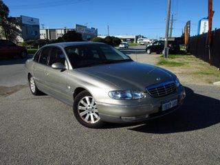 2002 Holden Statesman Whii V6 Brown 4 Speed Automatic Sedan.