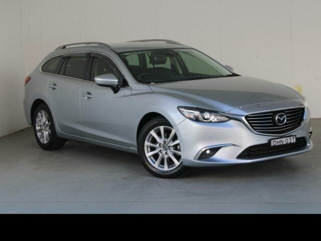 Used Mazda 6 6C MY15 Touring Belconnen, 2016 Mazda 6 6C MY15 Touring Silver 6 Speed Automatic Wagon