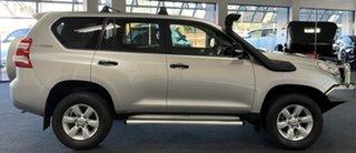 2017 Toyota Landcruiser Prado GDJ150R GX Silver 6 Speed Sports Automatic Wagon.