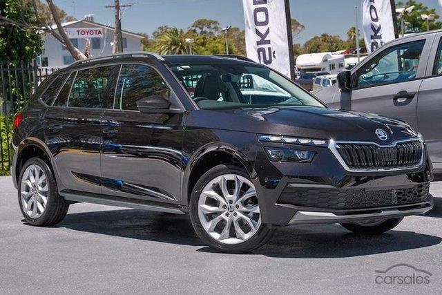 New Skoda Kamiq NW MY21 110TSI DSG FWD Limited Edition Hamilton, 2021 Skoda Kamiq NW MY21 110TSI DSG FWD Limited Edition Magic Black 7 Speed