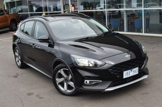 2019 Ford Focus SA 2020.25MY Active Black 8 Speed Automatic Hatchback.