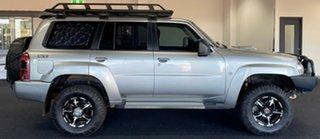 2015 Nissan Patrol Y61 GU 9 ST N-Trek Silver 5 Speed Manual Wagon.