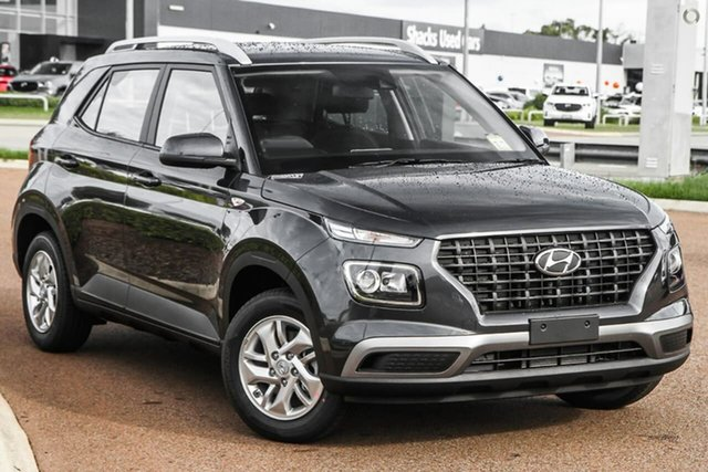 New Hyundai Venue QX.V3 MY21 Oakleigh, 2021 Hyundai Venue QX.V3 MY21 Grey 6 Speed Automatic Wagon