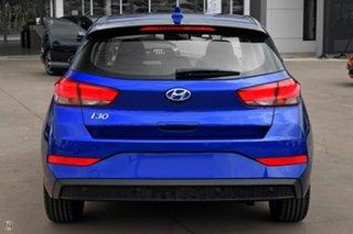 2021 Hyundai i30 PD.V4 MY21 Active Blue 6 Speed Sports Automatic Hatchback.