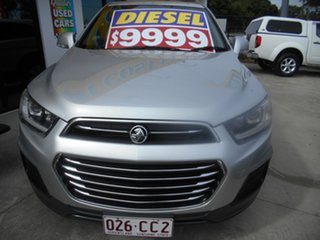 2017 Holden Captiva CG MY17 LS 2WD Silver 6 Speed Sports Automatic Wagon.