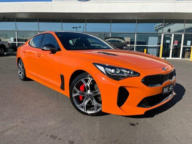 Used Kia Stinger CK MY20 GT Fastback Essendon Fields, 2020 Kia Stinger CK MY20 GT Fastback Orange 8 Speed Sports Automatic Sedan