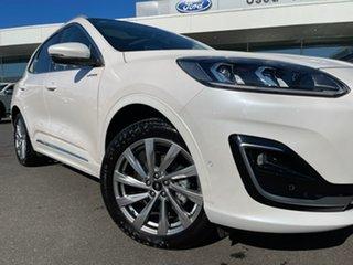 2020 Ford Escape ZH 2020.75MY Vignale AWD White 8 Speed Sports Automatic SUV.
