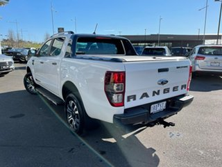 2019 Ford Ranger PX MkIII 2019.75MY Wildtrak White 10 Speed Sports Automatic Double Cab Pick Up.