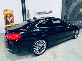 2018 BMW 4 Series F32 LCI 430i Luxury Line Black 8 Speed Sports Automatic Coupe