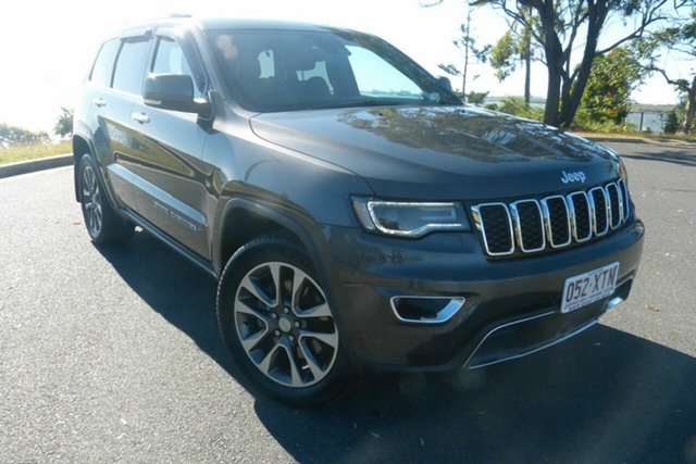 Used Jeep Grand Cherokee WK MY18 Limited Gladstone, 2017 Jeep Grand Cherokee WK MY18 Limited Grey 8 Speed Sports Automatic Wagon