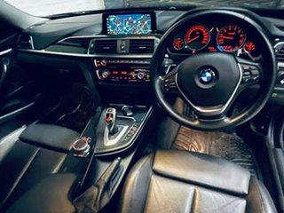 2018 BMW 4 Series F32 LCI 430i Luxury Line Black 8 Speed Sports Automatic Coupe.
