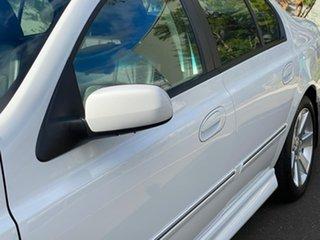2007 Ford Fairmont BF Mk II Ghia White 6 Speed Sports Automatic Sedan