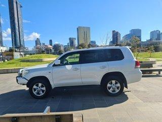 2009 Toyota Landcruiser VDJ200R MY10 Sahara White 6 Speed Sports Automatic Wagon