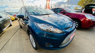 2010 Ford Fiesta WT LX Green 5 Speed Manual Sedan.