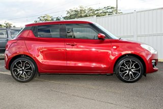 2017 Suzuki Swift AZ GL Red 5 Speed Manual Hatchback.