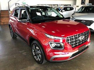 2020 Hyundai Venue QX MY20 Elite Red 6 Speed Automatic Wagon.