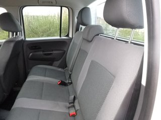 2011 Volkswagen Amarok 2H TDI400 Trendline White Manual Cab Chassis