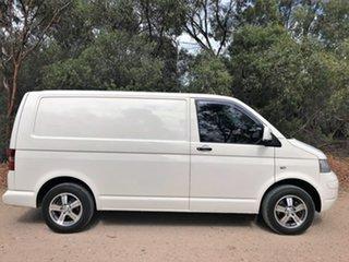 2008 Volkswagen Transporter T5 MY08 Low Roof White 5 Speed Manual Van.