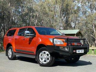 2014 Holden Colorado RG MY14 LTZ Crew Cab 4x2 Orange 6 Speed Sports Automatic Utility.