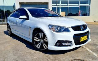 2015 Holden Commodore VF MY15 SV6 Storm White 6 Speed Sports Automatic Sedan.