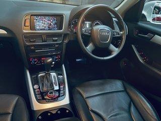 2012 Audi Q5 8R MY12 TDI S Tronic Quattro White 7 Speed Sports Automatic Dual Clutch Wagon.