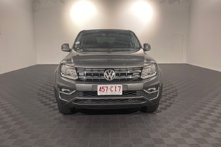 2018 Volkswagen Amarok 2H MY18 TDI550 4MOTION Perm Sportline Indium Grey 8 speed Automatic Utility.
