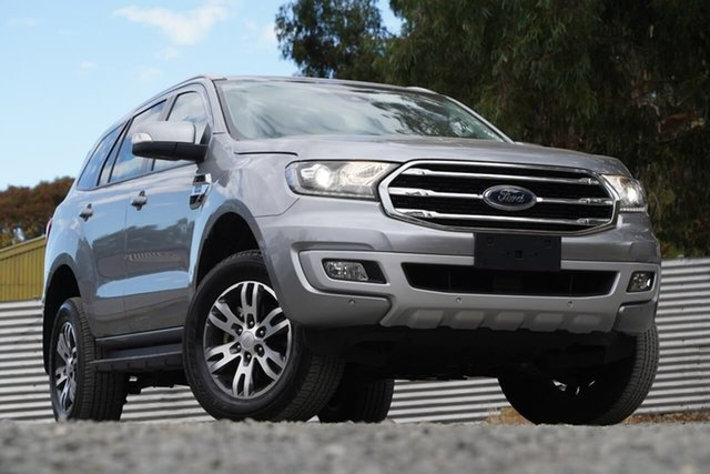 Used Ford Everest UA II 2019.00MY Trend Clare, 2019 Ford Everest UA II 2019.00MY Trend Silver 10 Speed Sports Automatic SUV